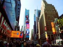 Times Square de Mahattan Foto de archivo libre de regalías