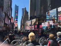 Times Square de New York City Photographie stock