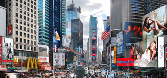 Times Square de New York City Manhattan Fotografia de Stock