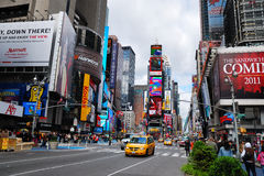 Times Square de New York City Manhattan Fotografia de Stock Royalty Free