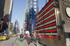 TIMES SQUARE DE NYC Imagen de archivo