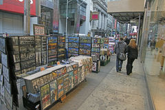 TIMES SQUARE DE NYC Imágenes de archivo libres de regalías