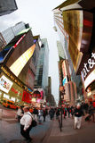 Times Square. De Stad van New York Stock Foto