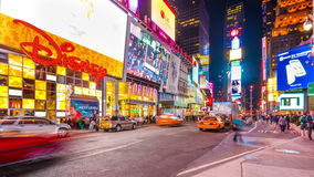 Times Square, de Stad van New York stock video
