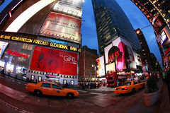 Times Square De Stad van New York Royalty-vrije Stock Foto's