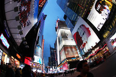 Times Square De Stad van New York Stock Foto's