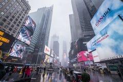 Times Square, de Stad van New York Stock Afbeelding