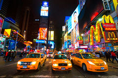 Times Square, de Stad van New York, de V.S. Stock Fotografie