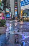 Times Square, de Stad van New York, Manhattan Stock Afbeelding