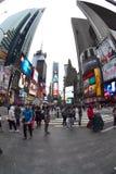 Times Square in de Stad van New York, NY de V.S. Royalty-vrije Stock Foto's