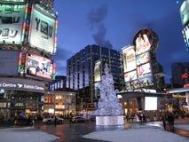 Times Square de Toronto Fotografía de archivo libre de regalías