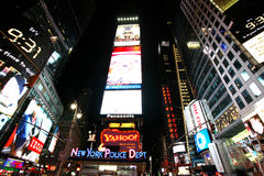 Times Square de ville de New York Photographie stock libre de droits