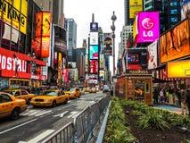 Times Square di giorno immagine stock libera da diritti