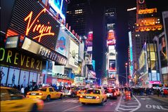 Times Square di New York City fotografia stock