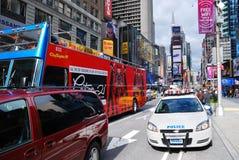 Times Square di New York City Manhattan Immagini Stock