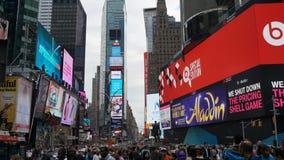 Times Square em Manhattan, New York Foto de Stock Royalty Free