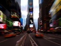 Times Square em New York City Fotos de Stock Royalty Free