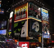 Times Square em NYC Fotos de Stock