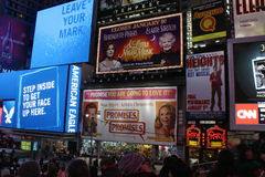 Times Square em NYC Fotos de Stock Royalty Free
