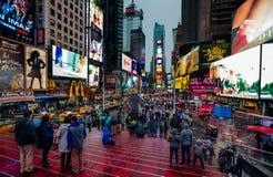 Times Square em NYC Imagens de Stock