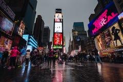 Times Square em NYC Fotografia de Stock Royalty Free