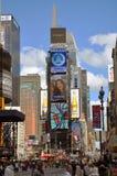 Times Square en 2011, New York City Images libres de droits