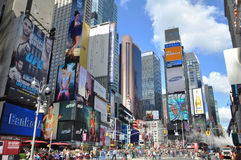 Times Square en 2011, New York City Image stock