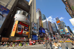 Times Square en 2011, New York City Images stock
