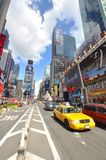 Times Square en 2011, New York City Photographie stock