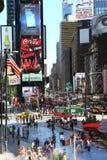 Times Square en Manhattan Imágenes de archivo libres de regalías