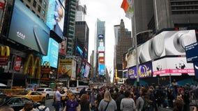 Times Square en Manhattan, Nueva York Imagenes de archivo