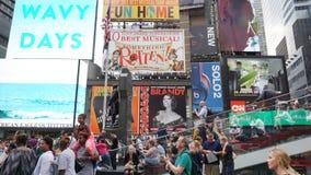 Times Square en Manhattan, Nueva York Foto de archivo