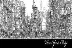 Times Square en Nueva York libre illustration