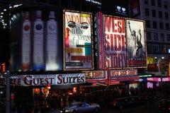 Times Square en NYC Imagen de archivo libre de regalías