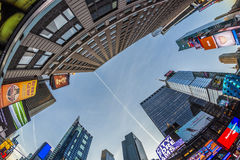 Times Square, featured with Broadway Theaters and huge number of Stock Photos