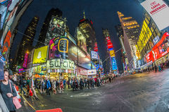 Times Square, featured with Broadway Theaters and huge number of. NEW YORK, USA - OCT 21, 2015: Times Square, featured with Broadway Theaters and huge number of stock images