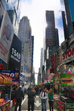 Times Square Festival Royalty Free Stock Photos