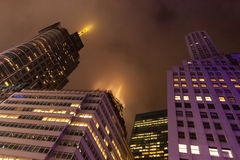 Times Square foncée Images libres de droits