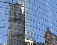 Times Square-Glas Lizenzfreies Stockfoto