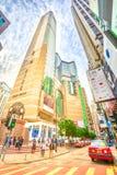 Times Square Hong Kong photographie stock