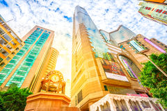 Times Square Hong Kong Zdjęcia Stock