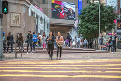 Times square Hong Kong Stock Photo