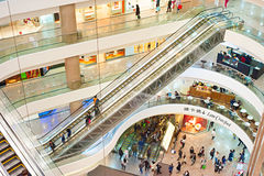 Times Square, Hong Kong Royalty Free Stock Photo