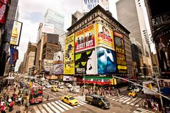Times Square is an iconicplace of New York City an Royalty Free Stock Photography