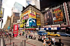 Times Square is an iconicplace of New York City an Stock Images