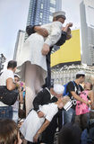 Times Square Kiss-In Royalty Free Stock Images