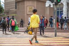 Times Square kobieta Zdjęcie Royalty Free