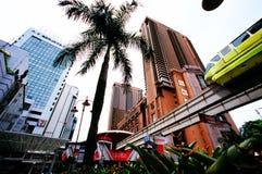 Times Square Kuala Lumpur di Berjaya Fotografia Stock Libera da Diritti