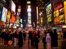 Times Square l'8 dicembre Immagini Stock Libere da Diritti