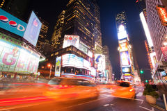 Times Square la nuit photo libre de droits